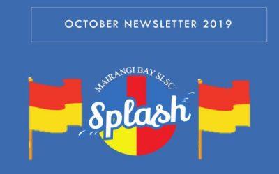 October Splash Newsletter 2019