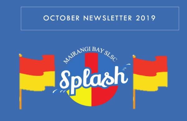 October Splash Newsletter 2019